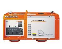 Генератор дизельный Kubota GL 9000