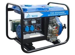 Дизель генератор TSS SDG 4000E
